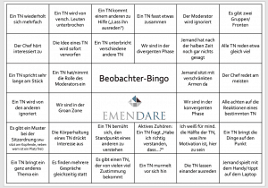Beobachter-Bingo