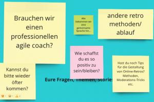 Screenshot eine Fragensammlung aus Armins Workshop.