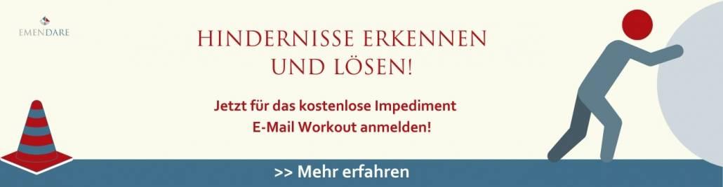 Impediment E-Mail Workout