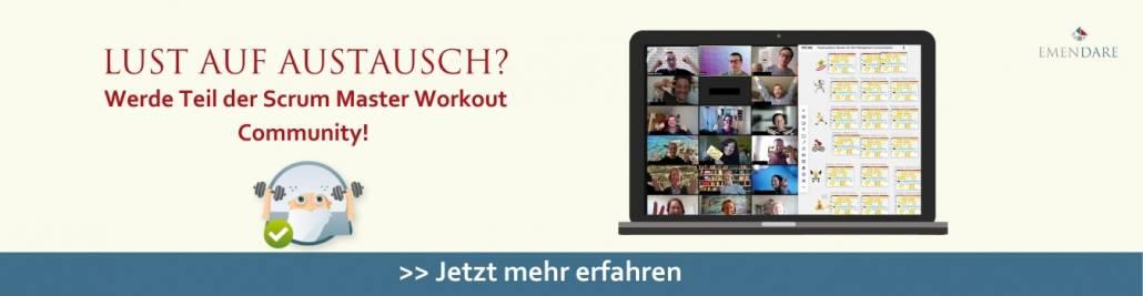 Scrum Master Workout Community - kostenlose Anmeldung