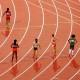 Langstreckenläuferinnen am Start